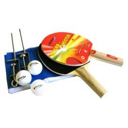 Kit Ping Pong / Tênis Mesa - Raquetes Rede Bolinhas Klopf